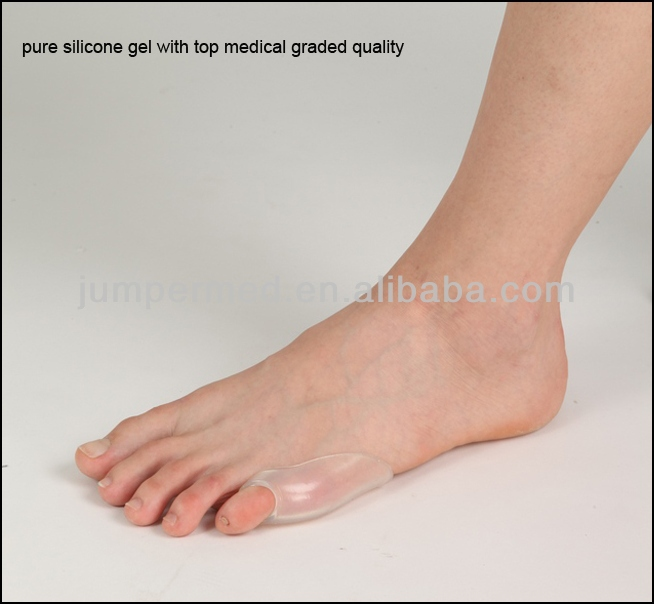 Professional medical quality Last Toe Gel Shield Silicone Gel / Shield Sleeve Pad / Last Toe Tailor's Guard