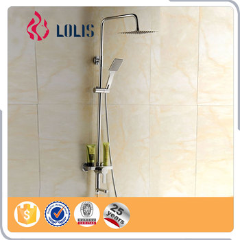 (YLS5895) Competitive price modern exposed bath shower mixer set	, bathroom faucet,rain shower sets