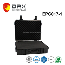 EVEREST ip68 hard protective waterproof plastic equipment case/gun box/tool box