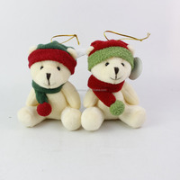 Bear christmas hanging tree ornaments , christmas hanging bear