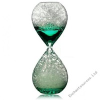 Large hourglass sand timer 60 minute