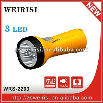 Rechargeable Flashlight LED(WRS-2203)