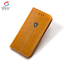Mobile phone accessories floding flip pu leather cover case for iphone 8 leather covers with card holder