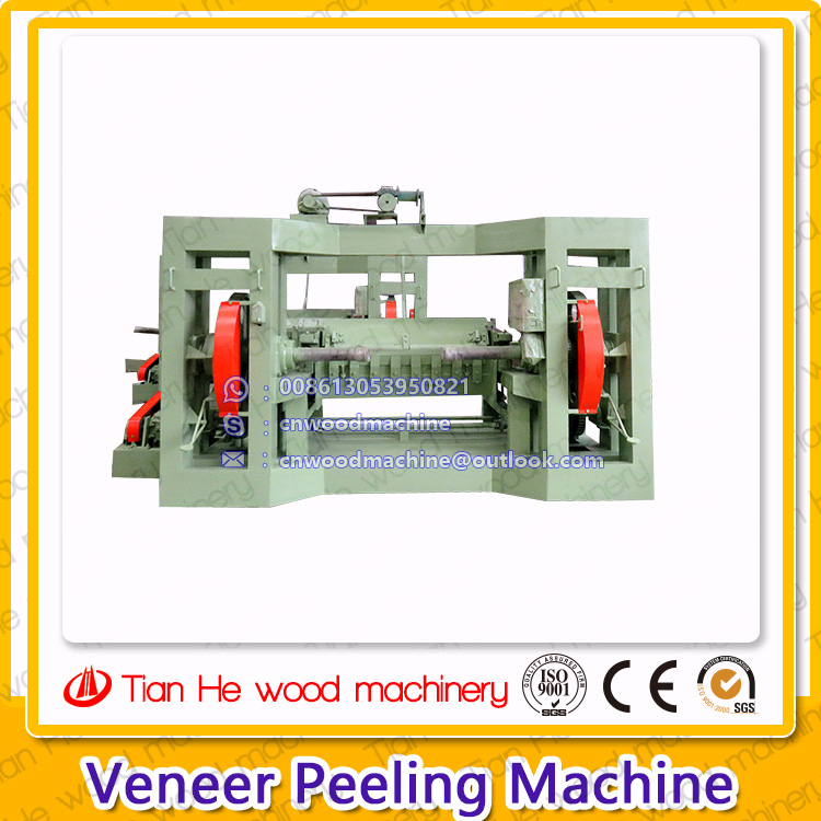 China Plywood Core veneer peeling machine/ Rotary cutter machine /Veener peeling lathe