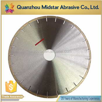MIDSTAR fast cutting diamond 450mm saw blades for marble