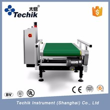 High sensitivity weight gain injection checking machine