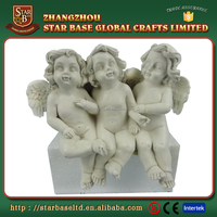 OEM Custom polyresin cupid angel figurines for sale