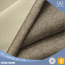 Home textile top quality blackout curtain fabric for wholesale