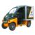 Single cabin electric light duty truck for sale