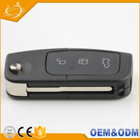 Eco-friendly ABS master car keys focus remote keys for ford