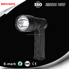 super bright hand-held spot hunting light Rechargeable 10W led spotlight