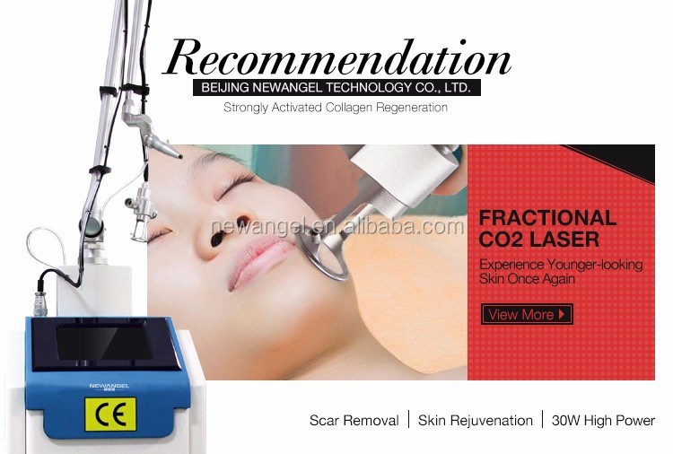 Portable home use co2 fractional laser skin resurfacing machine