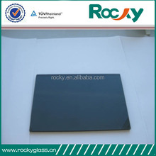High quality fast shipment 5mm 3300x2140mm dark grey float glass