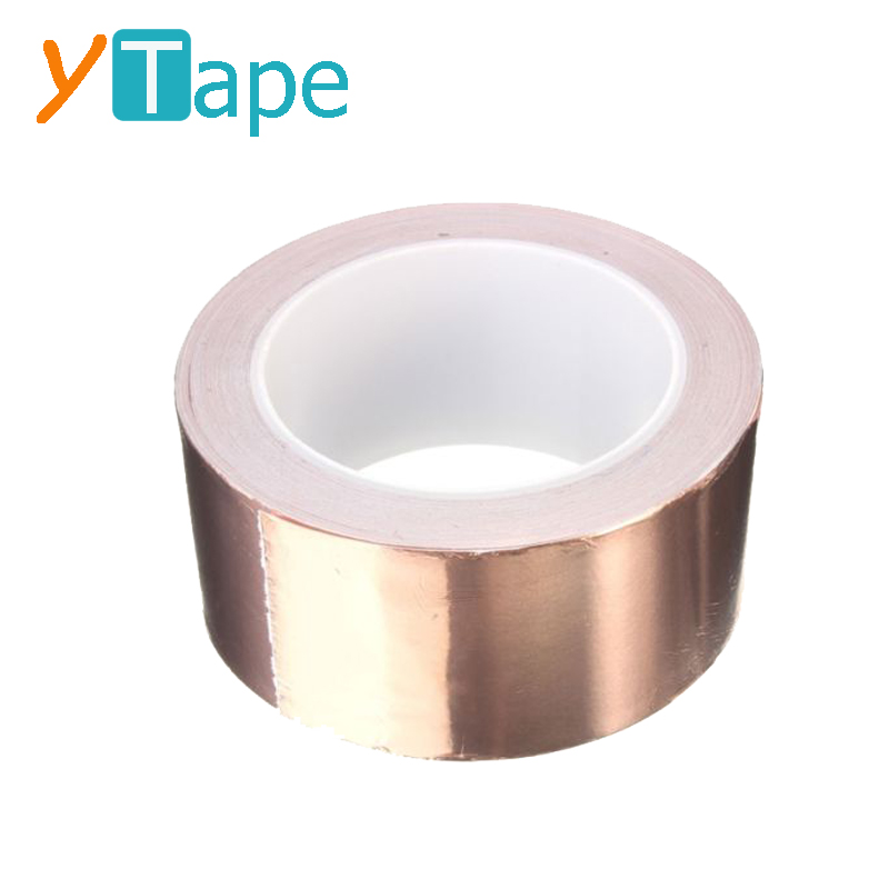 EMI Conductive Self Adhesive Slug and Snail Barrier Copper Tape for Soldering Guitar Circuit