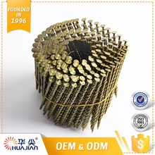 Top Class Common Round Wire Screw Shank Coil Nails For Pallet