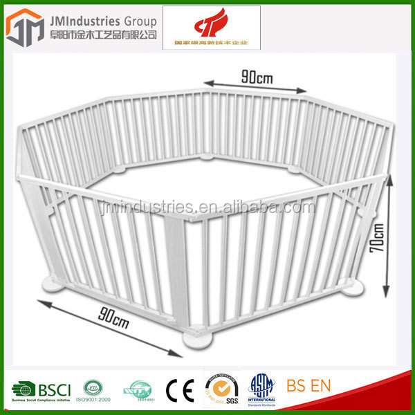 durable safety care baby playpen wooden baby playyard