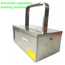 Desktop electric strapping machine for rice vermicelli noodle vegetable