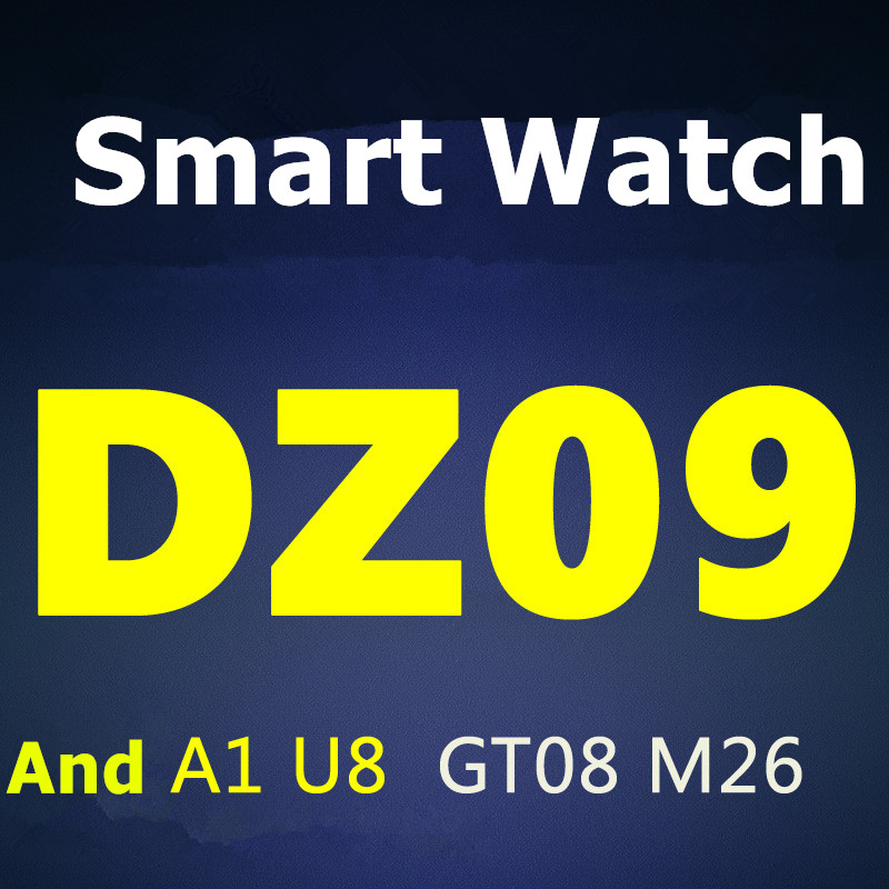 Cheap Price Mobile Phone Bluetooth Smart Hand Watch DZ09 Smart Watch With Camera