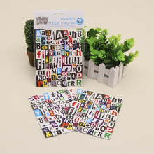 new product alphabet paper fridge magnet puzzle for kids FM32