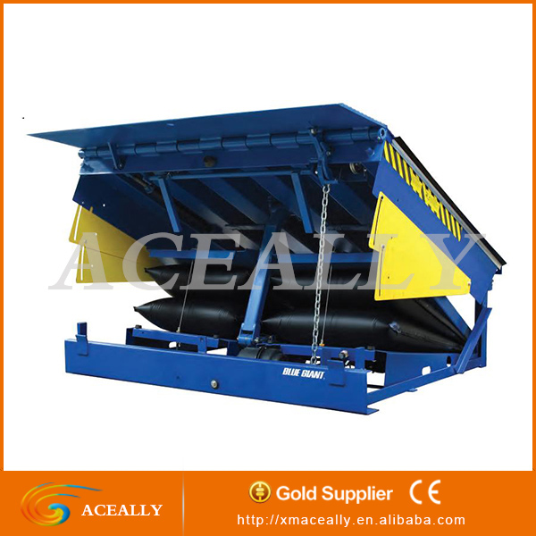 High Quality Mechanical Loading Air Bag Dock Leveler