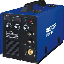 MIG-200A high quality CE igbt inverter mig/mag used mig welders for sale