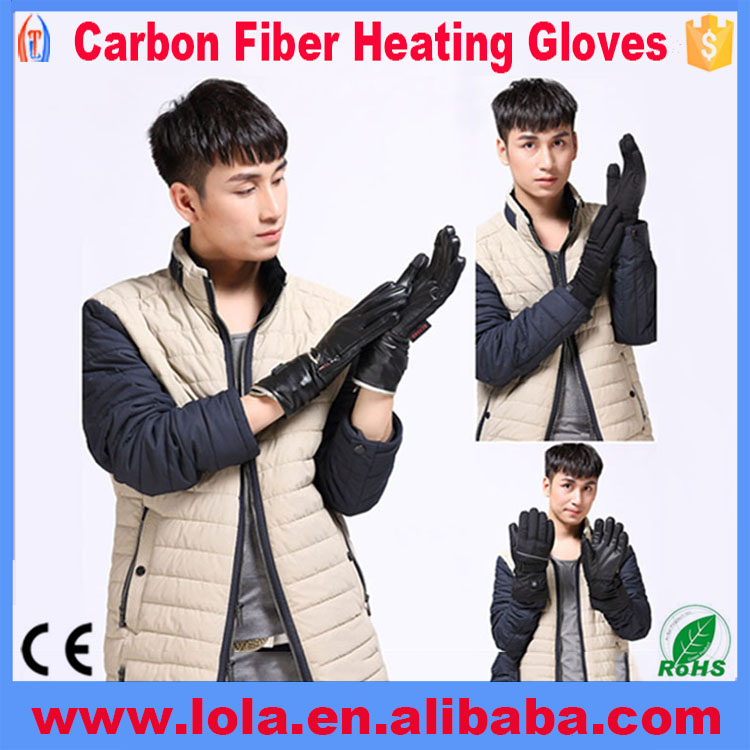 Soft Heated Driving Gloves Finger Warmer