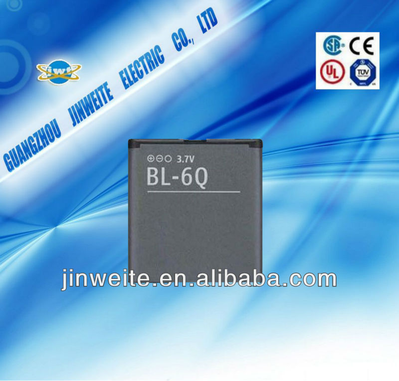 BL-6Q battery for NOKIA 6700c