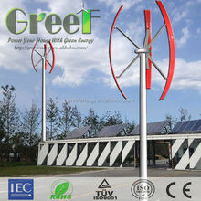 NEW VAWT ! High output low speed Vertical axis Wind turbine generator 2kw