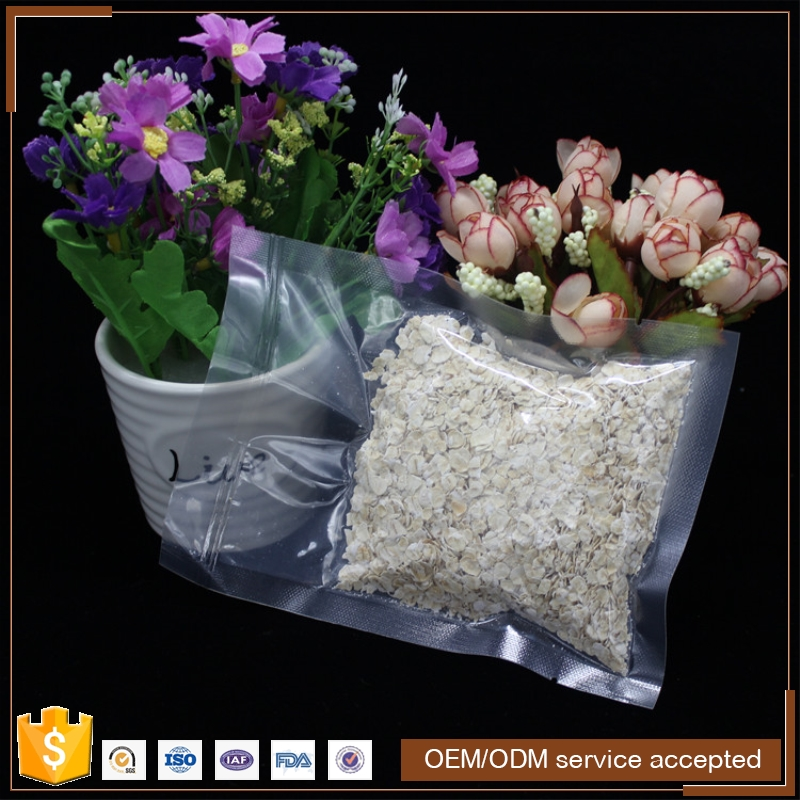 custom printed food grade material plastic bag pouch frozen seafood packaging bag , plastic food bag