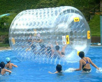 Inflatable water rolling ball, human hamster water roller D1004