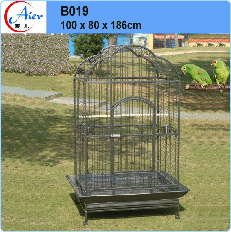 outdoor iron bird aviary parrot house on sale