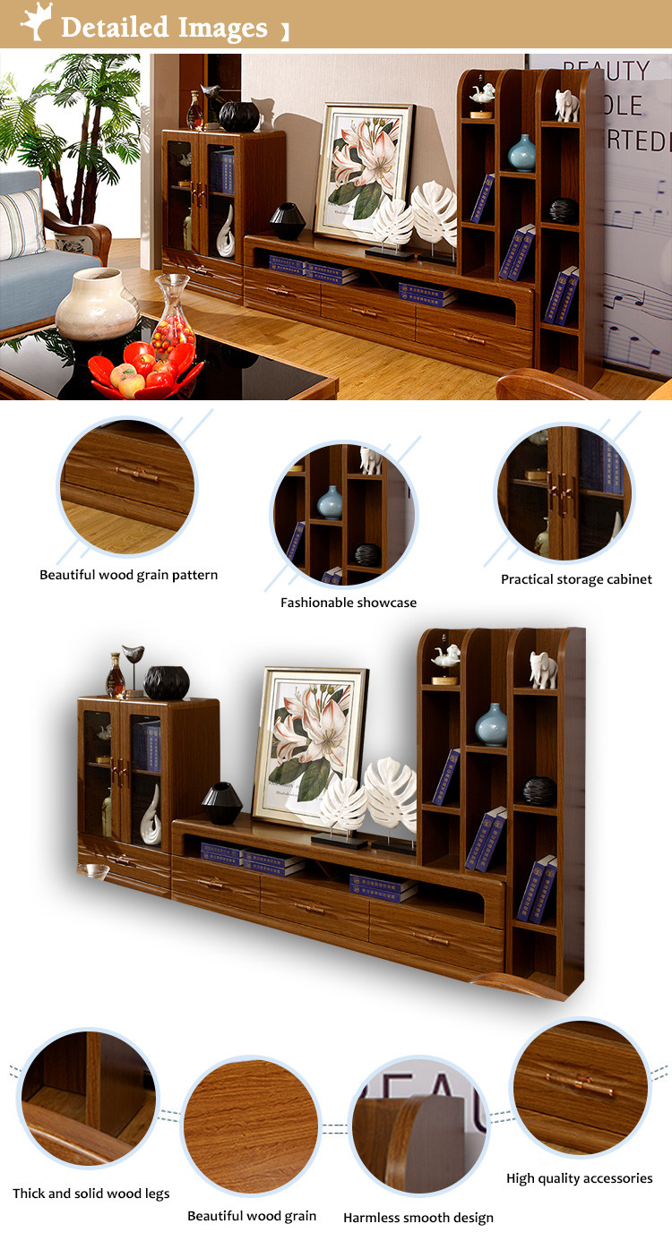 Living room furniture pictures new model design wooden tv for New model living room furniture
