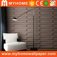 Fiber TV background wall paneling textured wave board 3d wall panels