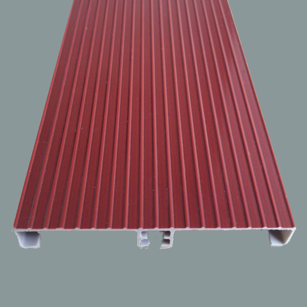 Wholesale eco-friendly aluminum foiled pvc kitchen skirting