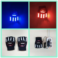 New Design Party favor Glow in the dark gloves,Cotton nylon led gloves,Flashing gloves