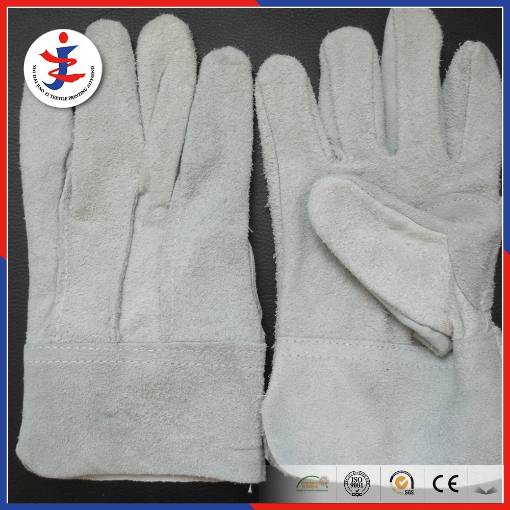 Cow split leather gloves buyer