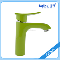Copper single hole to hot and cold wash basin faucet water tap