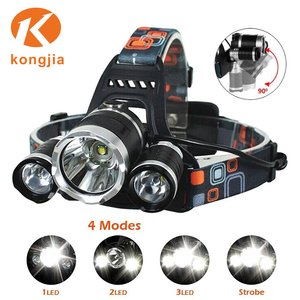 Factory Most Powerful Waterproof Led Lights Outdoor Headlamp for Camping