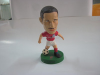 Latest technology special offer mini soccer player action figure