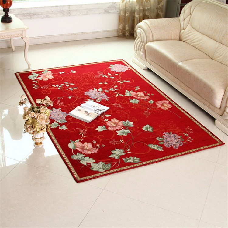 style home decor jacquard decorative area rugs for a living room