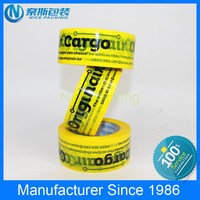 customized lable printing bopp water based acrylic carton sealing tape