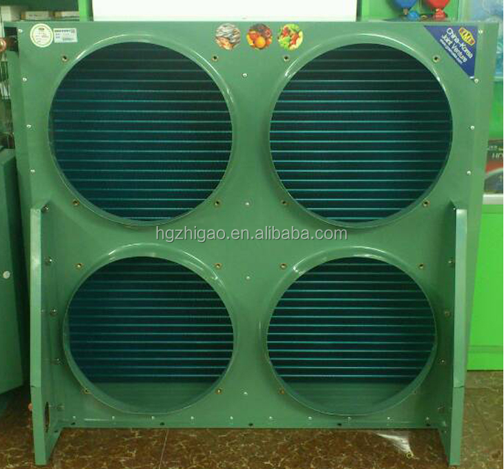 Factory Wholesale Air Cooled Refrigeration Condenser XMK100-4 With 4 Fans