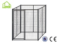 New design unique galvanized cheep chain link dog kennels pet dog cage pet cage