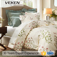 400tc 60sx60s combed cotton embroidery bed sheets cheap