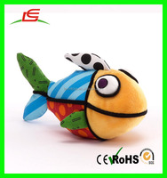 CE/ASTM Standards Marine Plush Fish Toy Cute Baby Soft Toy Sea Animals Stuffed Toy