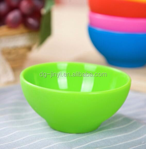 colored flexible silicone mixing bowl silicone baby feeding bowl