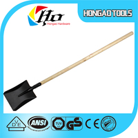 HOT SALE Long Function Wood Handle Steel Shovel For Saudi Arabia,agricultural tools