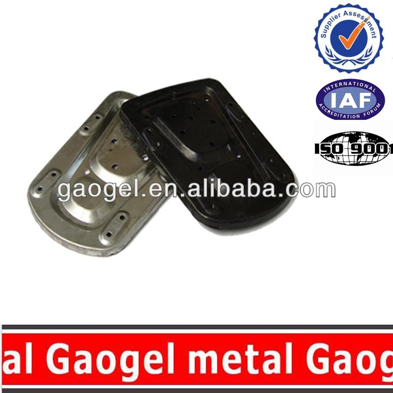 OEM precision hardware zinc metal stamping zinc steel /stainless steel 70cc motorcycle parts