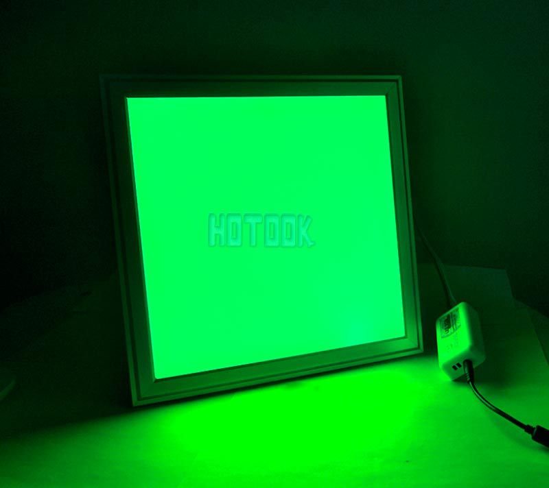 RGB LED panel flexible dimmable