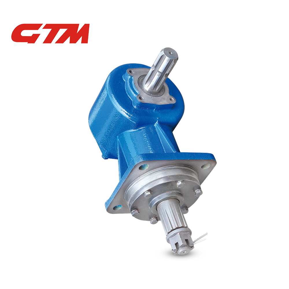 1:1.46 90 degree gearbox for lawn mower